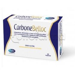 Carbone Belloc Integratore per Flatulenza 60 Capsule