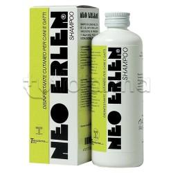Neo Erlen Shampoo Antiparassitario Veterinario per Cani e Gatti 200ml