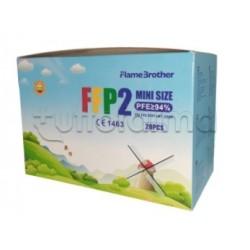 Mascherina Respiratoria Filtrante FFP2 Mini Size Colori Assortiti CE 20 Mascherine