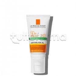 La Roche Posay Anthelios Gel Crema Solare Tocco Secco Viso SPF50+ Pelle Grassa 50ml
