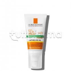 La Roche Posay Anthelios Gel Crema Solare Colorata Tocco Secco Viso SPF50+ Pelle Grassa 50ml