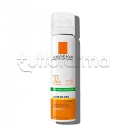 La Roche Posay Anthelios Spray Solare Fresco Invisibile Viso SPF50 Pelle Grassa 75ml