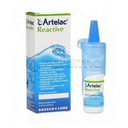 Artelac Reactive Collirio Occhi Irritati che Prudono 10ml