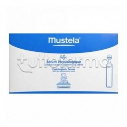 Mustela Soluzione Fisiologica per Fosse Nasali ed Occhi del Bebé 20 fiale da 5 ml