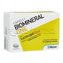 Biomineral One Con Lactocapil Plus Integratore Capelli 30 Compresse