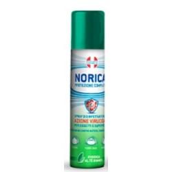 Norica Protezione Completa Spray Disinfettante per Oggetti e Superfici Essenza Tè Bianco 75ml