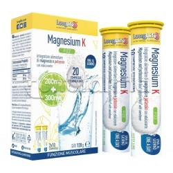 Longlife Magnesium K Fizz Integratore di Magnesio e Potassio 20 Compresse Effervescenti