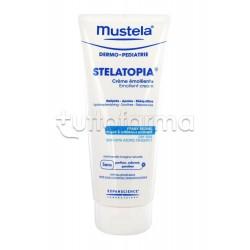 Mustela Stelatopia Crema Emolliente per la Pelle Secca e Atopica Fin dalla Nascita Tubo da 200 ml