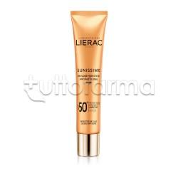 Lierac Sunissime BB Cream Solare Viso Protettiva Energizzante Anti-Età SPF50+ 40ml
