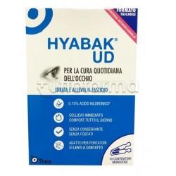 Hyabak Soluzione Oftalmica Occhi Secchi 10 Flaconcini Monodose