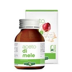 Erba Vita Aceto di mele Integratore Contro Colesterolo 550 Mg 60 Capsule