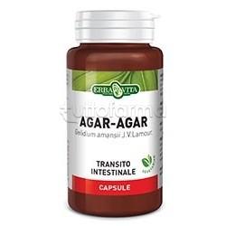 Erba Vita Agar Agar Integratore Regolarità Intestinale 500 Mg 60 Capsule