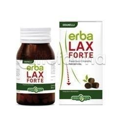 Erba Vita Erbalax Forte Integratore per Benessere Intestinale Granelli 30g