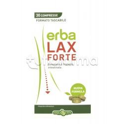 Erba Vita Erbalax Forte Integratore per Benessere Intestinale 30 Compresse