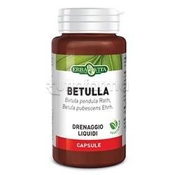 Erba Vita Betulla Integratore Drenante 400 mg 60 Capsule