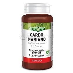 Erba Vita Cardo Mariano Integratore Epatico 400 Mg 60 Capsule