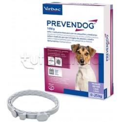 Prevendog Antiparassitario Veterinario per Cani 0-25Kg 2 Collari