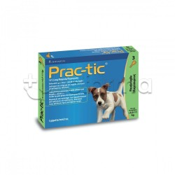 Practic Antiparassitario Veterinario per Cani 4,5-11Kg 3 Pipette