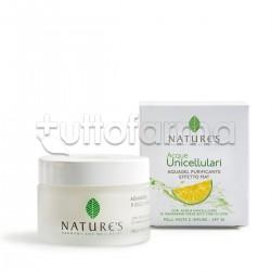 Bios Line Nature's Acque Unicellulari Aquagel Purificante Viso Effetto Mat 50ml