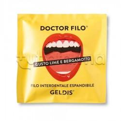 Geldis Doctor Filo Filo Interdentale Gusto Lime e Bergamotto 30 Metri