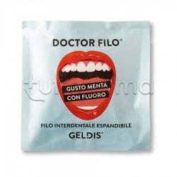 Geldis Doctor Filo Filo Interdentale Gusto Menta con Fluoro 30 Metri