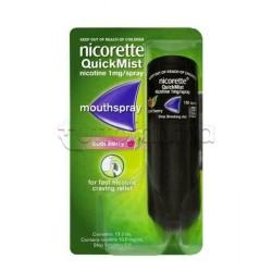 Nicorette Quick Spray per Smettere di Fumare Aroma Frutti di Bosco 150 Erogazioni
