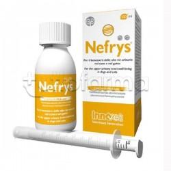 Nefrys Integratore Veterinario per Benessere Vie Urinarie Cane e Gatto 100ml