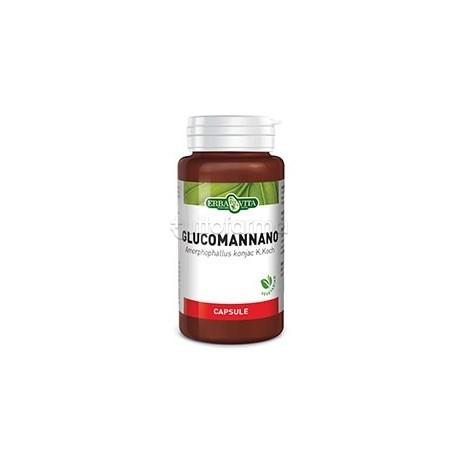 Erba Vita Glucomannano Integratore Intestinale 500 Mg 60 Capsule