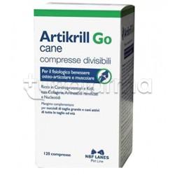 Artikrill Go Cane Integratore Veterinario per Articolazioni del Cane 120 Compresse