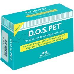 D.O.S. Pet Integratore Veterinario per la Vista di Cani e Gatti 50 Perle
