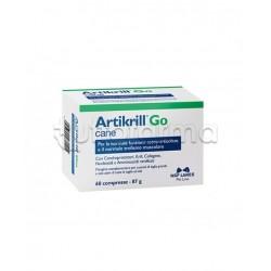 Artikrill Go Cane Integratore Veterinario per Articolazioni del Cane 60 Compresse