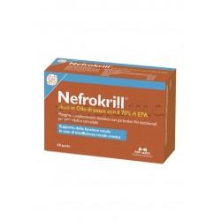 Nefrokrill Integratore Veterinario per Insufficienza Renale di Gatti 30 Perle
