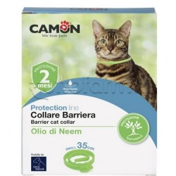 Camon Collare Barriera Antiparassitario Veterinario per Gatti 35cm 1 Pezzo