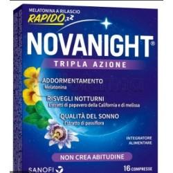 Novanight Tripla Azione Rilascio Rapido per Sonno e Riposo 16 Compresse