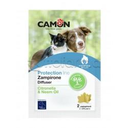 Camon Zampirone per Ambienti con Citronella 2 Pezzi