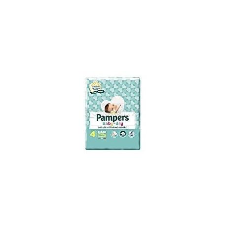 Pampers Baby Dry Maxi Pannolini per Bambini Taglia 4 (7-18Kg) 19 Pezzi