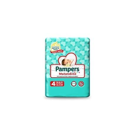 Pampers Baby Dry Mutandino Maxi Pannolini per Bambini Taglia 4 (8-15Kg) 16 Pezzi