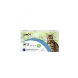 Camon Protection Spot On Antiparassitario Veterinario per Gatti 5 Fiale