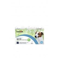 Camon Protection Spot On Antiparassitario Veterinario per Cani fino ai 10Kg 5 Fiale