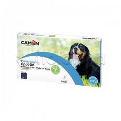 Camon Protection Spot On Antiparassitario Veterinario per Cani Oltre 10Kg 5 Fiale