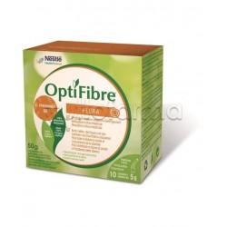 Nestlè Optifibre Flora Integratore per Diarrea 10 Bustine da 5g