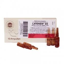 Sanum Latensin D4 Fiale Rimedio Omeopatico 10 Fiale 1ml