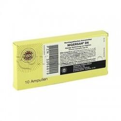 Sanum Nigersan Atox D6 Fiale Rimedio Omeopatico 10 Fiale 1ml