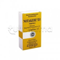 Sanum Notakehl D3 Rimedio Omeopatico 10 Supposte