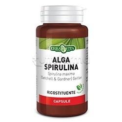 Erba Vita Alga Spirulina Integratore Ricostituente 450 mg 60 Capsule