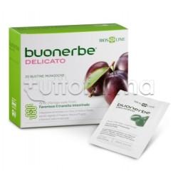 Bios Line Buonerbe Delicato Integratore per Transito Intestinale 20 Bustine