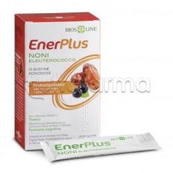 Bios Line Enerplus Noni-Eleuterococco Integratore per Memoria e Concentrazione 15 Bustine