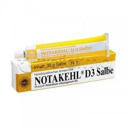 Sanum Notakehl D3 Pomata Rimedio Omeopatico 30g