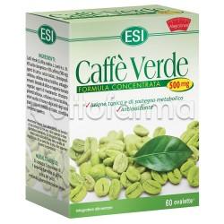 Esi Caffè Verde Integratore Tonificante 500 Mg 60 Ovalette
