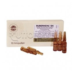 Sanum Ruberkehl D5 Fiale Rimedio Omeopatico 10 Fiale 1ml